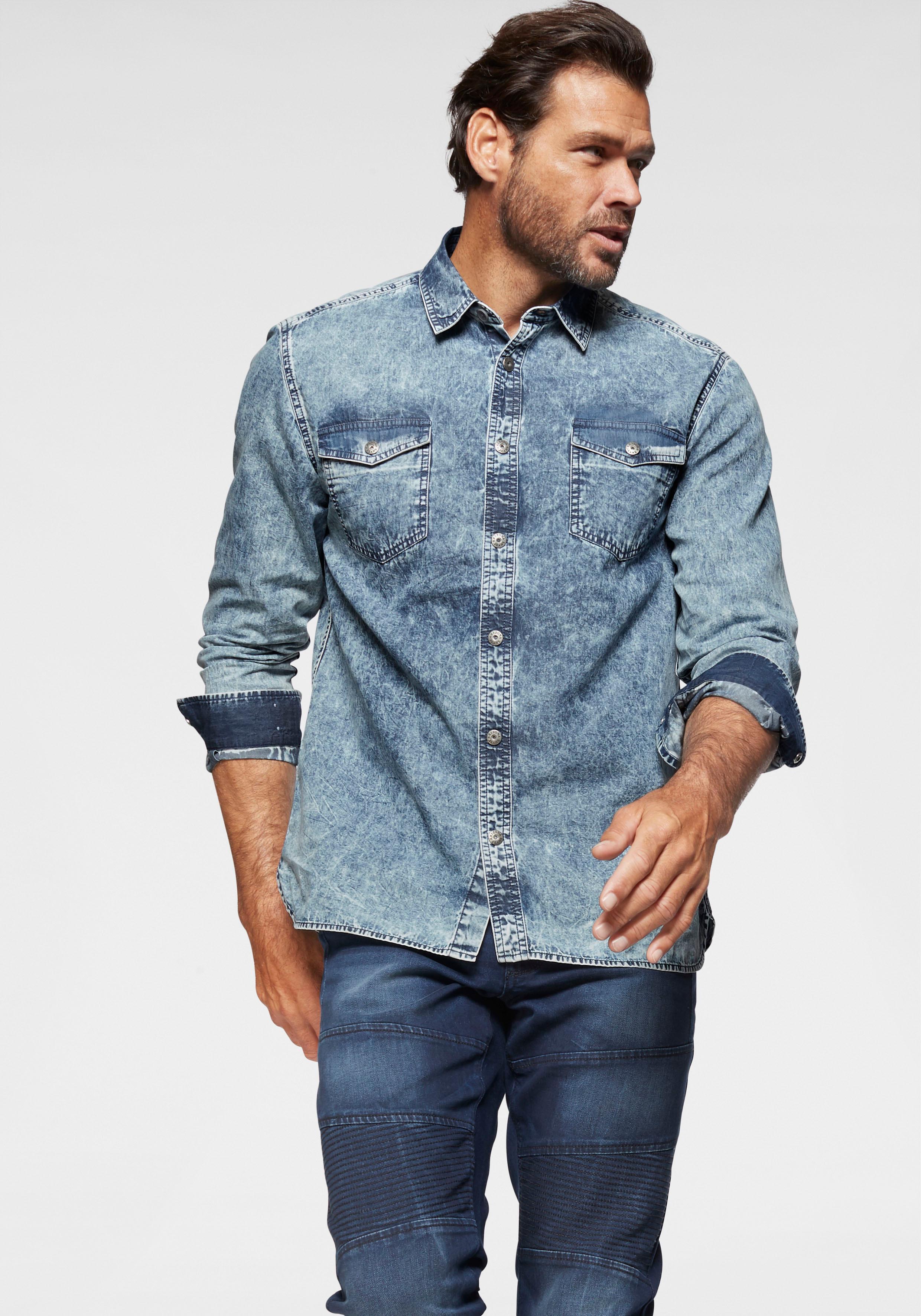 Arizona Jeanshemd | Bekleidung > Hemden > Jeanshemden | Blau | Arizona
