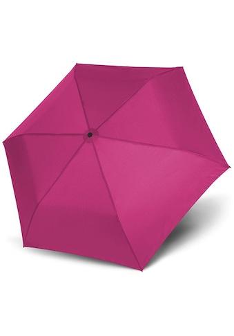 doppler® Taschenregenschirm »Zero 99 uni, Fancy Pink« kaufen