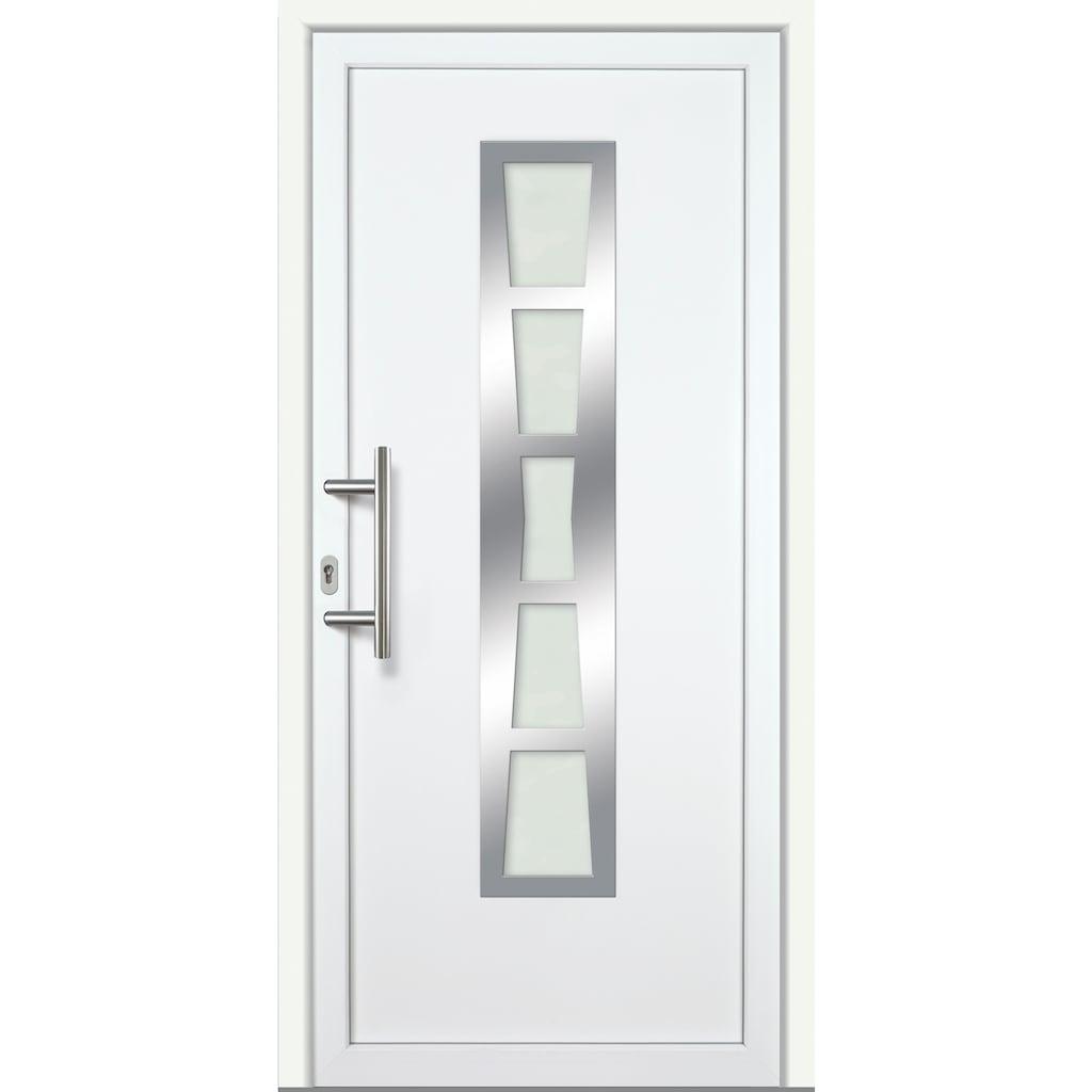 KM Zaun Haustür »K640«, BxH: 98x198 cm, Anschlag rechts oder links, mit Griffgarnitur