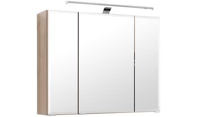 HELD MÖBEL Spiegelschrank »Fontana«, Breite 80 cm, mit Soft-Close-Funktion und Steckdose kaufen
