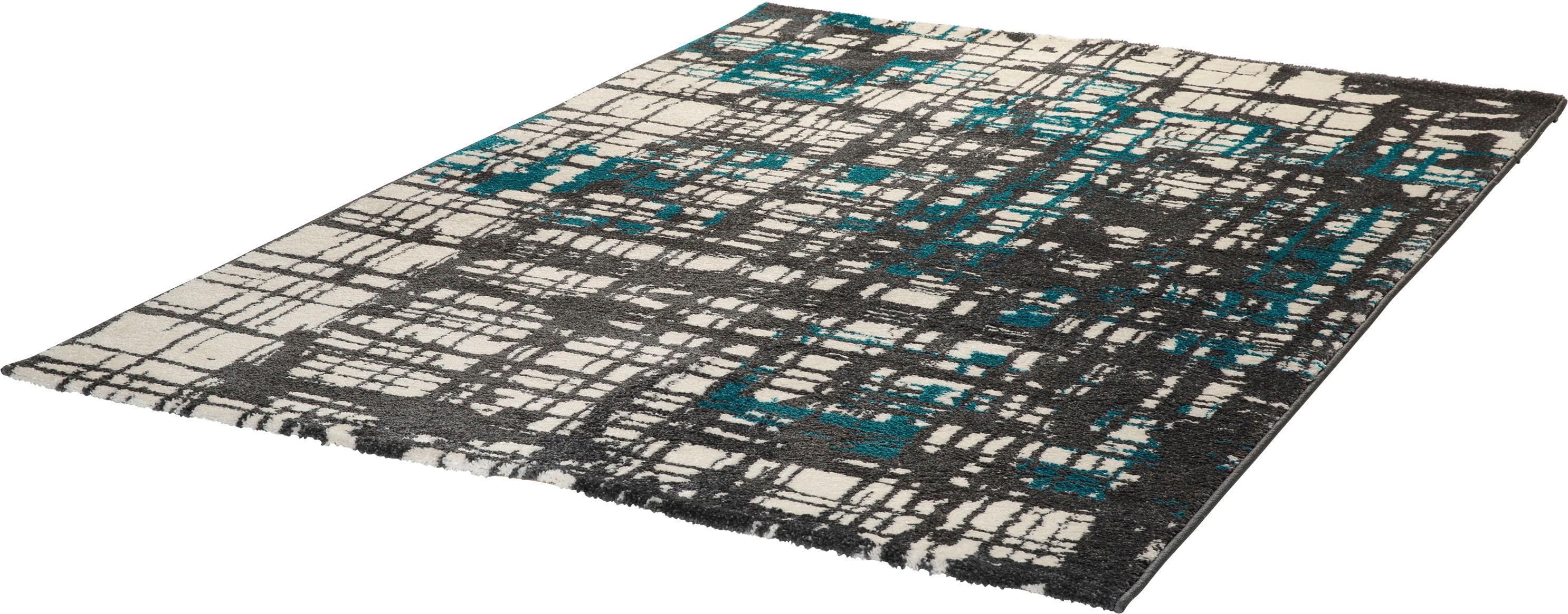 Teppich My Bronx 547 Obsession rechteckig Höhe 18 mm maschinell gewebt