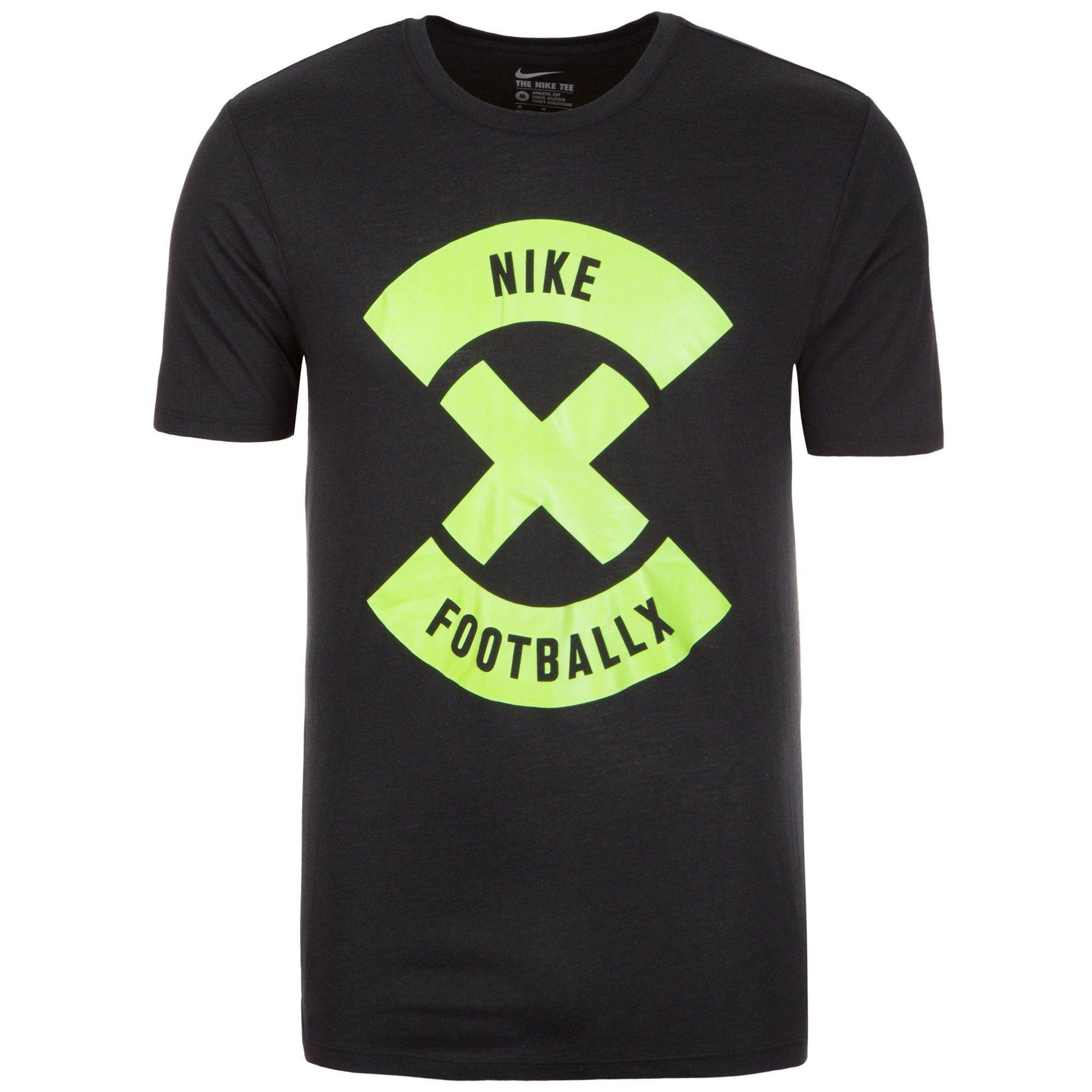 Nike T-Shirt »Football X Glow« | Bekleidung > Shirts > T-Shirts | Schwarz | NIKE