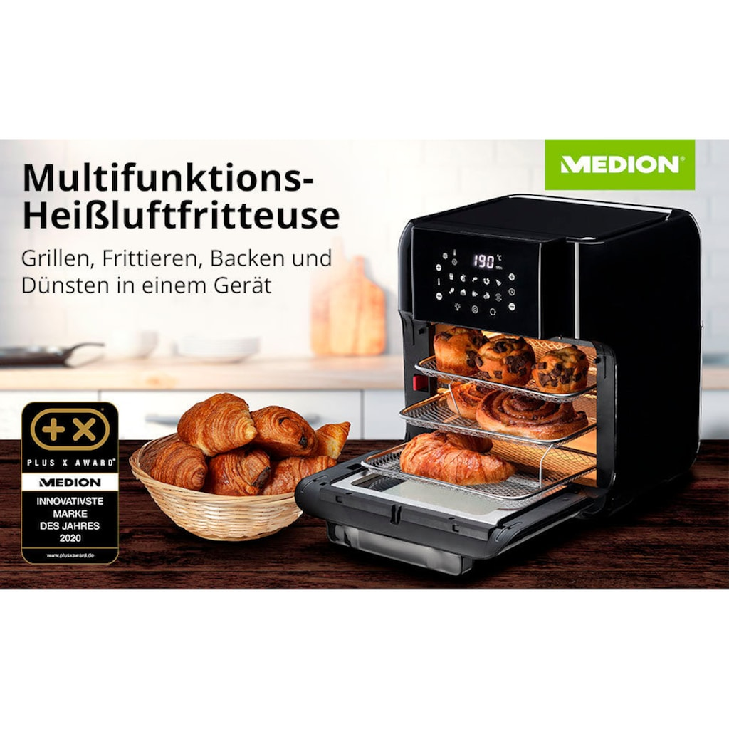 Medion® Heissluftfritteuse »MD 10072«