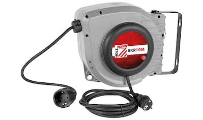 HOLZMANN - MASCHINEN Elektrokabel - Aufroller »EKR10M_230V«, 10 + 1 m kaufen