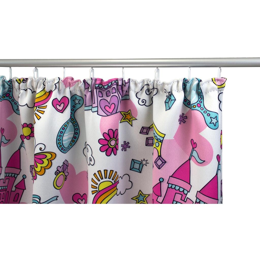 VHG Vorhang »Sanni«, Kinder, Verdunkelungs, Dim Out, pink, rosa