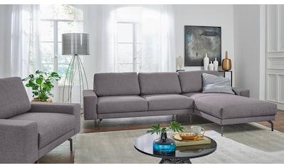 hülsta sofa Ecksofa »hs.450«, mit kubischer Armlehne, Breite 274 cm kaufen