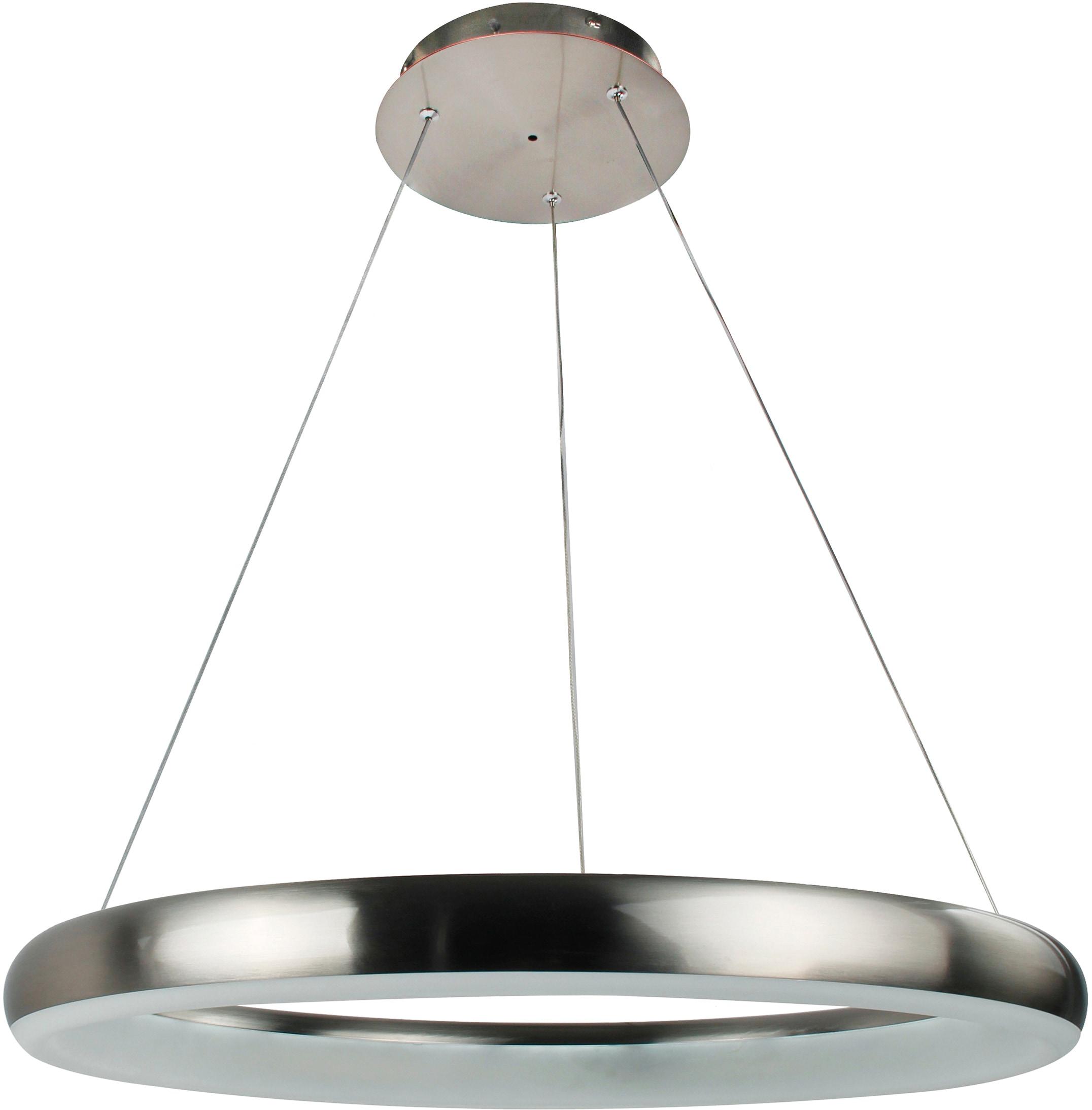 WOFI LED Pendelleuchte CLINT, LED-Board, Kaltweiß, Hängeleuchte, dimmbar, Farbwechsel