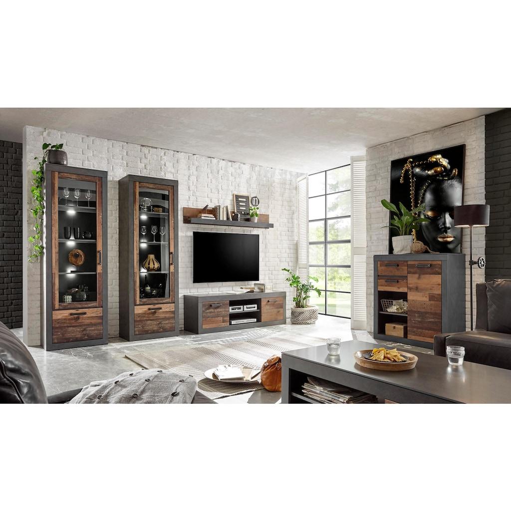 Home affaire Kommode »BROOKLYN«, in dekorativer Rahmenoptik