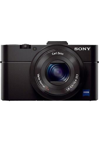 Sony Systemkamera »Cyber-Shot DSC-RX100M2«, Carl Zeiss® F1.8 Vario-Sonnar® T, Gesichtserkennung, HDR-Aufnahme kaufen