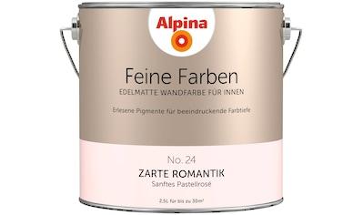 ALPINA Wand -  und Deckenfarbe »Feine Farben  -  Zarte Romantik«, 2,5 l kaufen