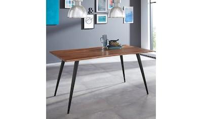 HELA Baumkantentisch »Jule III«, Massivholz, 26mm Tischlattenstärke, in verschiedenen... kaufen
