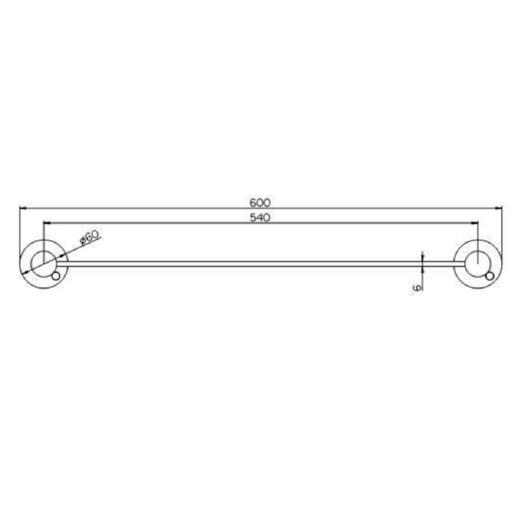 Provex Ablageregal »Serie 100«, (1 St.), 600 mm Länge