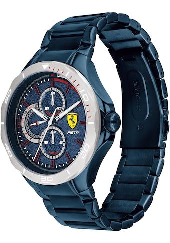 Scuderia Ferrari Multifunktionsuhr »PISTA, 830759« kaufen