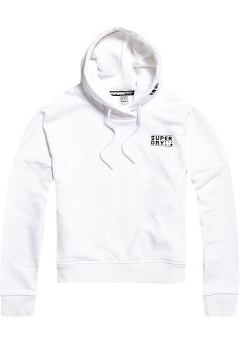 Superdry Sport Kapuzensweatshirt »CORE SPORT CROP HOOD« kaufen