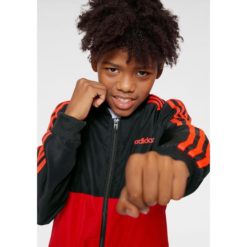 adidas Performance Trainingsanzug »YOUTH BOY TRACKSUIT WOVEN« (Set, 2 tlg.)