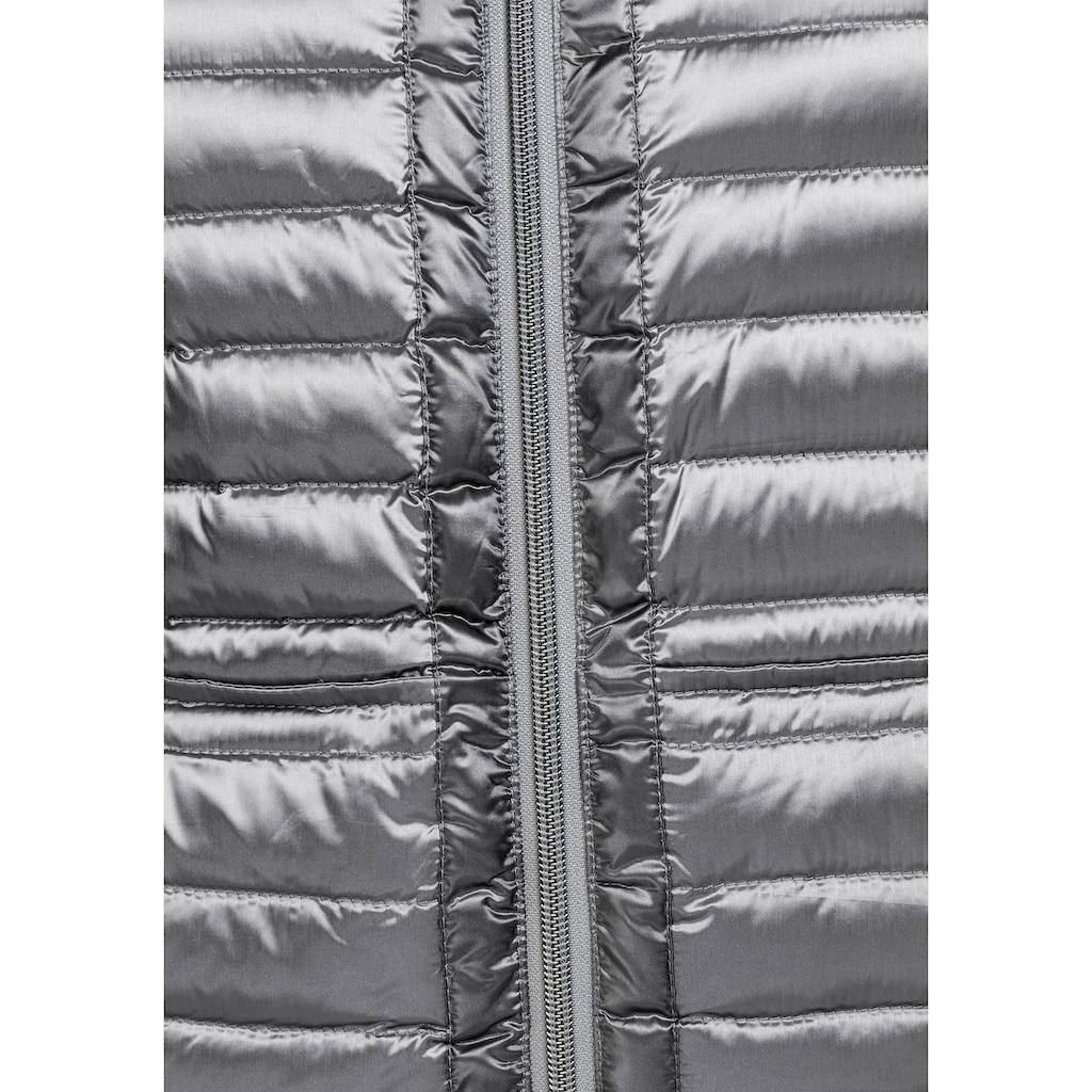 Aniston CASUAL Daunenjacke, gemustert oder unifarben