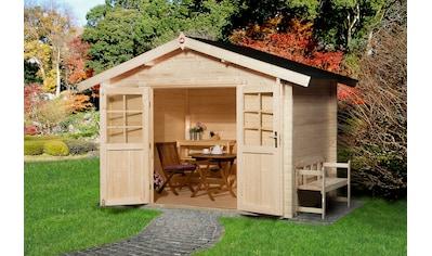 WEKA Gartenhaus »Gr.3«, BxT: 340x330 cm, inkl. Fußboden kaufen