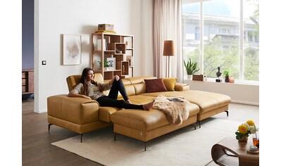 W.SCHILLIG Ecksofa »piedroo«, inklusive Sitztiefenverstellung & Kopfteilverstellung,... kaufen