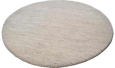 Wollteppich, »Amravati«, THEKO, rund, Höhe 28 mm, manuell geknüpft kaufen
