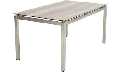 PLOSS Gartentisch »Hudson«, Edelstahl/HPL, 158x90 cm kaufen