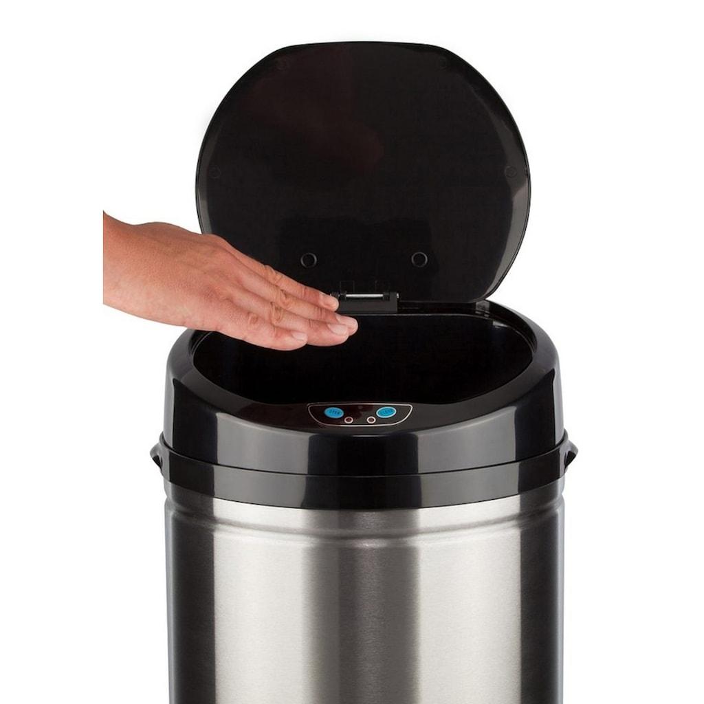 ECHTWERK Mülleimer »INOX BRUSHED«, Infrarot-Sensor, Fassungsvermögen 42 Liter