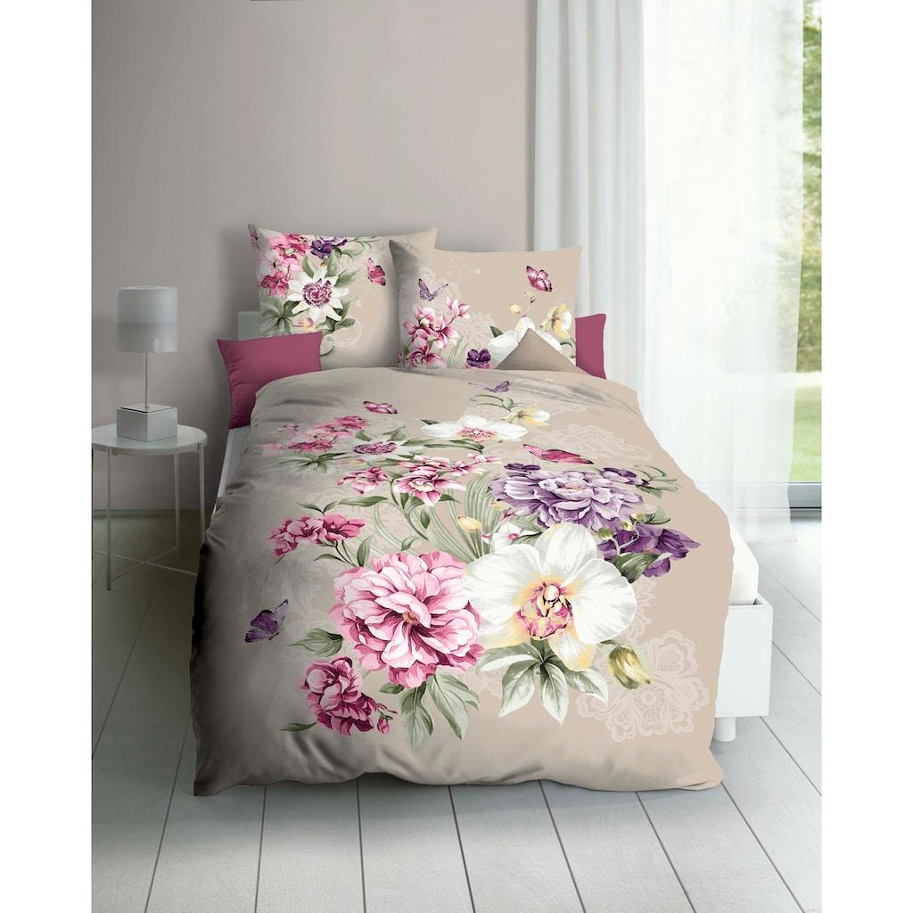 Kaeppel Bettwäsche »Euphoria«, mit wundervollen Blumen