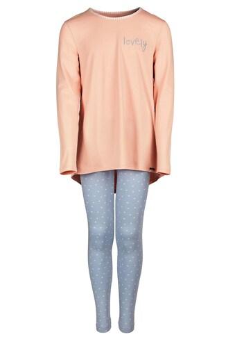 Skiny Pyjama lang mit verlängertem Rückenteil »Lovely Sleep« kaufen