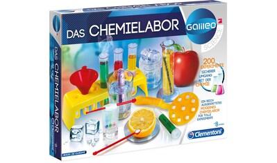 Clementoni® Experimentierkasten »Galileo - Das Chemielabor«, Made in Europe kaufen