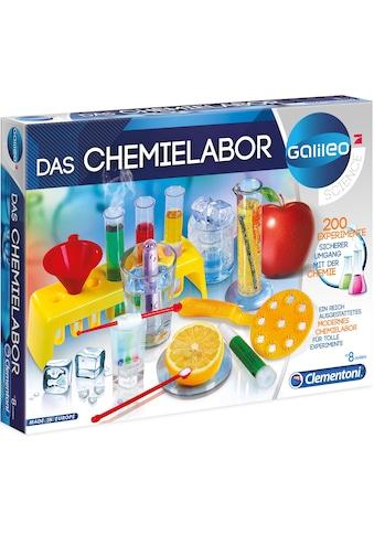 """Clementoni® Experimentierkasten """"Galileo  -  Das Chemielabor"""" kaufen"""