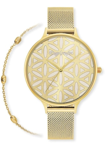 Engelsrufer Quarzuhr »Lebensblume, ERWO - LIFL - 01« (Set, 2 tlg., Set Uhr Lebensblume mit Meshband gold und Schmuck Armband gold) kaufen
