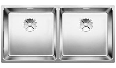 BLANCO Küchenspüle »ANDANO 400/400 - U«, benötigte Unterschrankbreite: 90 cm kaufen