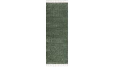 Carpet City Hochflor-Läufer »Pulpy 100«, rechteckig, 30 mm Höhe, Wohnzimmer kaufen