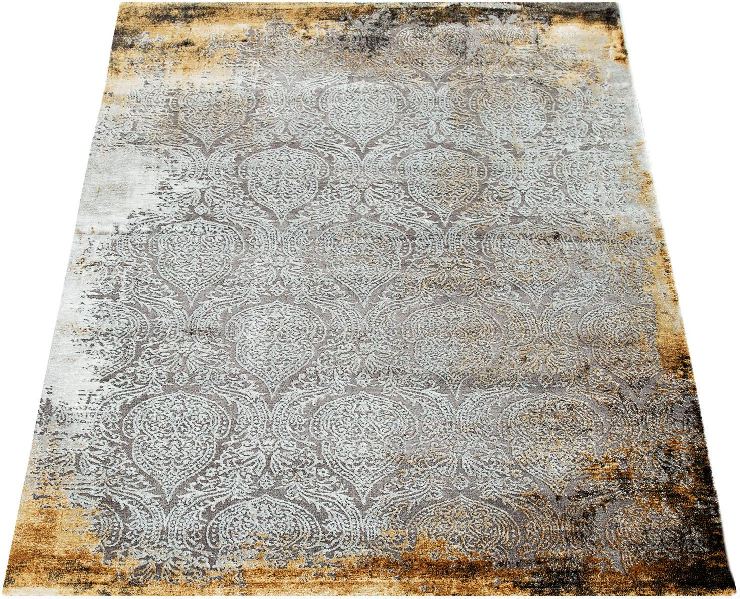 Teppich Crayon 455 Paco Home rechteckig Höhe 15 mm maschinell gewebt