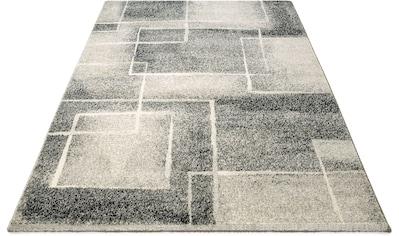 Bruno Banani Teppich »Eliano«, rechteckig, 14 mm Höhe, Retro- Design, Wohnzimmer kaufen