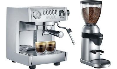 """Graef Siebträgermaschine »""""marchesa"""" ES850EUSET«, inkl. Kaffeemühle CM 800 im Wert von 169,99 UVP kaufen"""