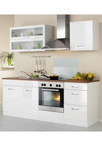 HELD MÖBEL Küchenzeile »Fulda«, mit E-Geräten, Breite 210 cm kaufen