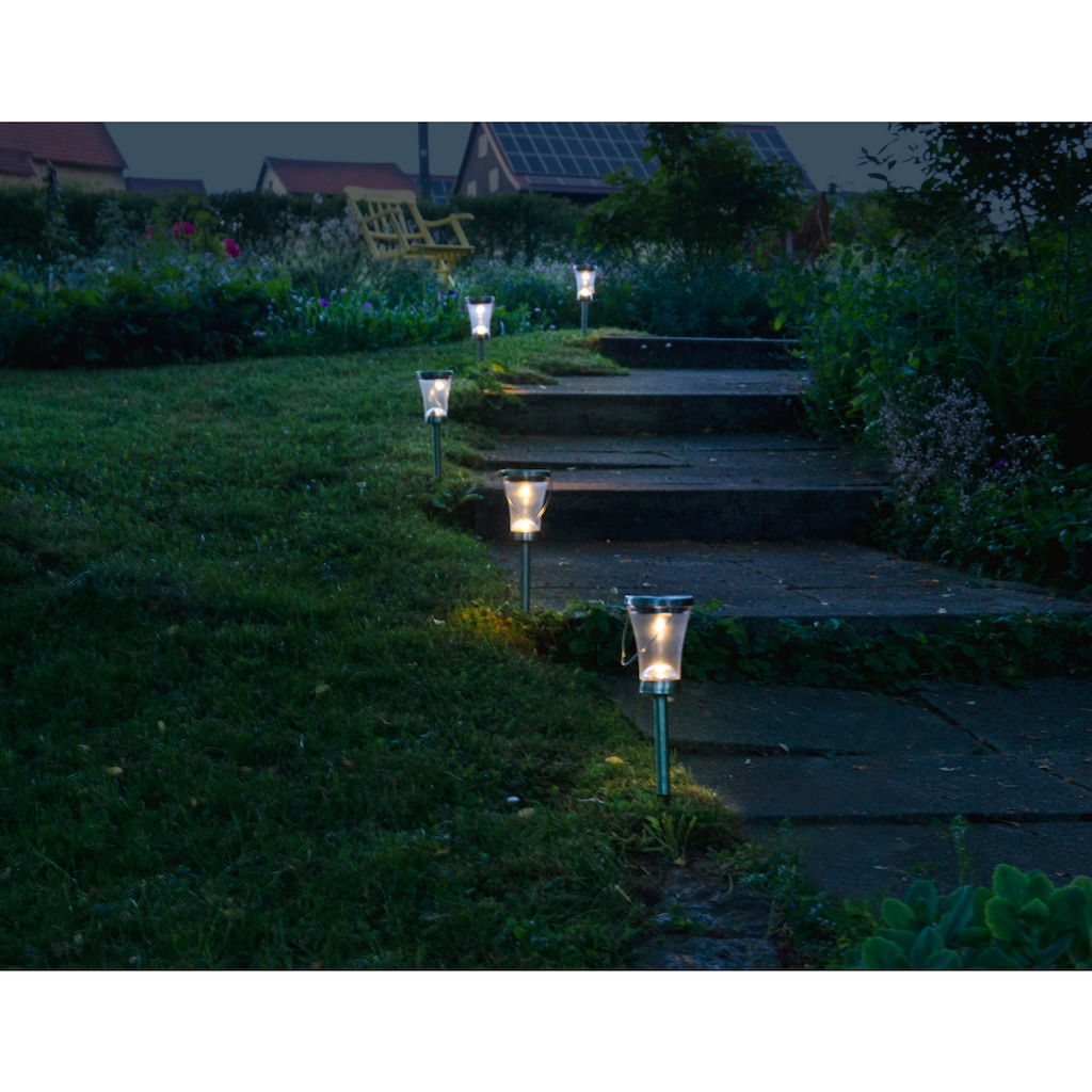 näve LED Dekolicht, 8 St., Warmweiß