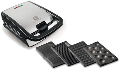 Tefal Waffeleisen »Snack Collection 4er Set SW854D«, 700 W kaufen