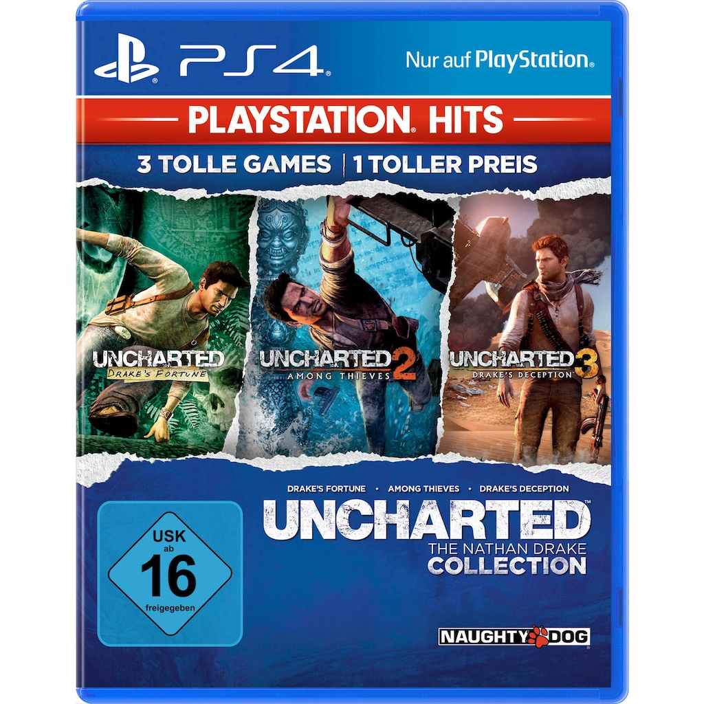 PlayStation 4 Spiel »Uncharted: The Nathan Drake Collection«, PlayStation 4