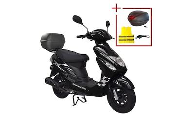 ALPHA MOTORS Mofaroller »Cityleader«, 50 ccm, 25 km/h kaufen