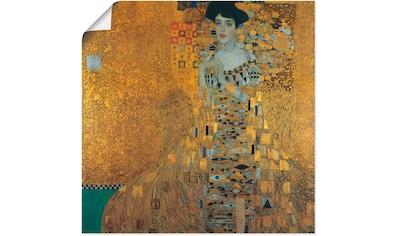 Artland Wandbild »Portrait von Adele Bloch-Bauer«, Frau, (1 St.), in vielen Größen &... kaufen
