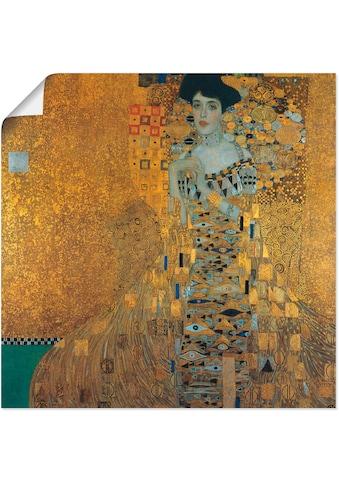 Artland Wandbild »Portrait von Adele Bloch - Bauer« kaufen