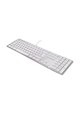matias USB-Aluminiumtastatur mit Nummernblock »Aluminum Erweiterte USB Tastatur UK für Mac OS« kaufen