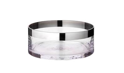 EDZARD Schale »Grit«, Kristallglas mit Platinrand kaufen
