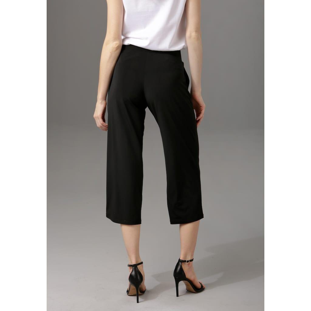 Aniston CASUAL Culotte, in unifarben oder trendig gemustert