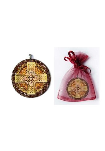 Adelia´s Amulett »925 Silber Bernstein Talisman«, Keltisches Kreuz - Einheit mit dem... kaufen