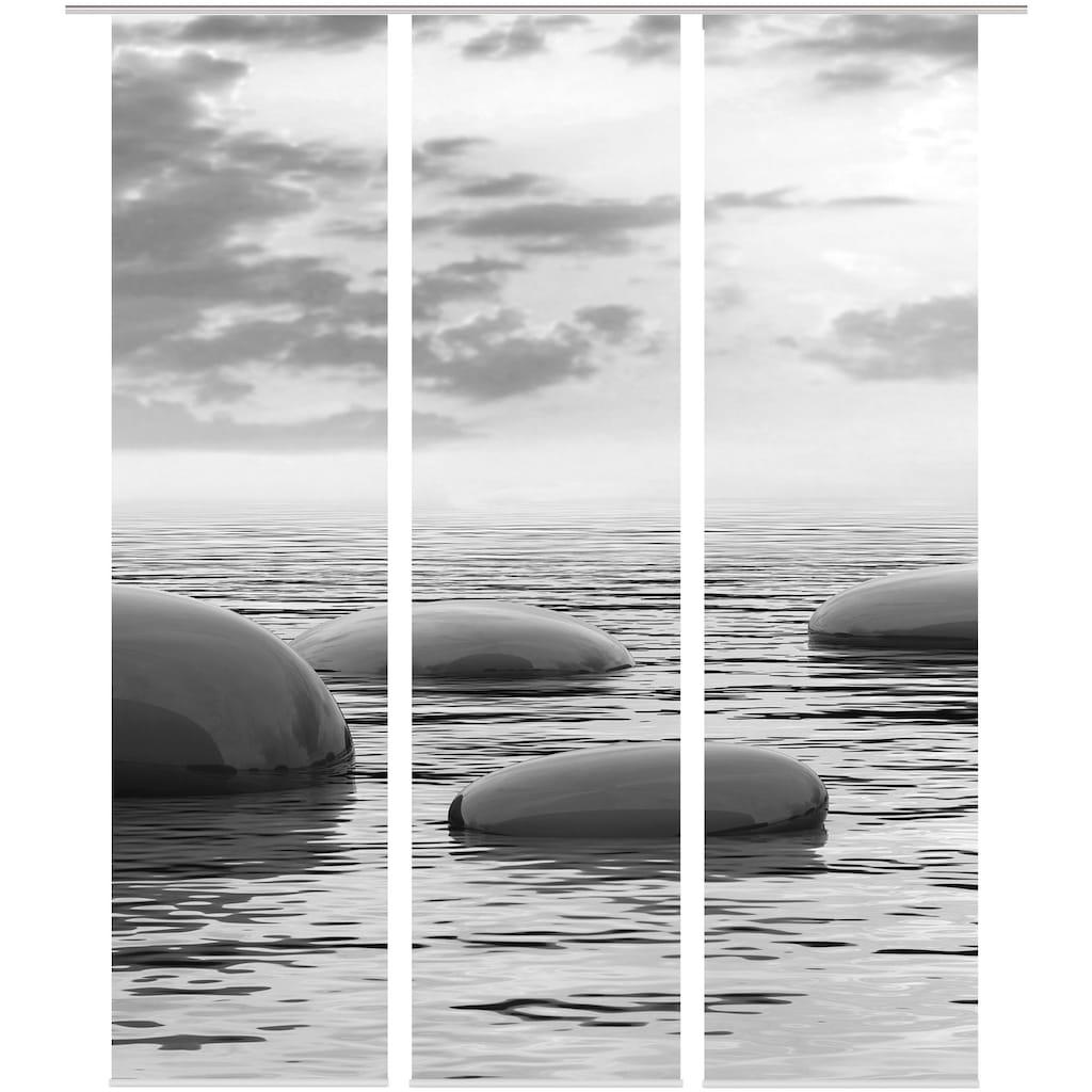 HOME WOHNIDEEN Schiebegardine »TOPOLI«, blickdicht, Digital bedruckt