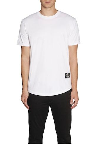 Calvin Klein Jeans T - Shirt »BADGE TURN UP SLEEVE« kaufen