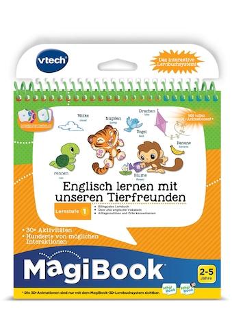 """Vtech® Buch """"MagiBook Lernstufe 1  -  Englisch lernen mit unseren Tierfreunden"""" kaufen"""