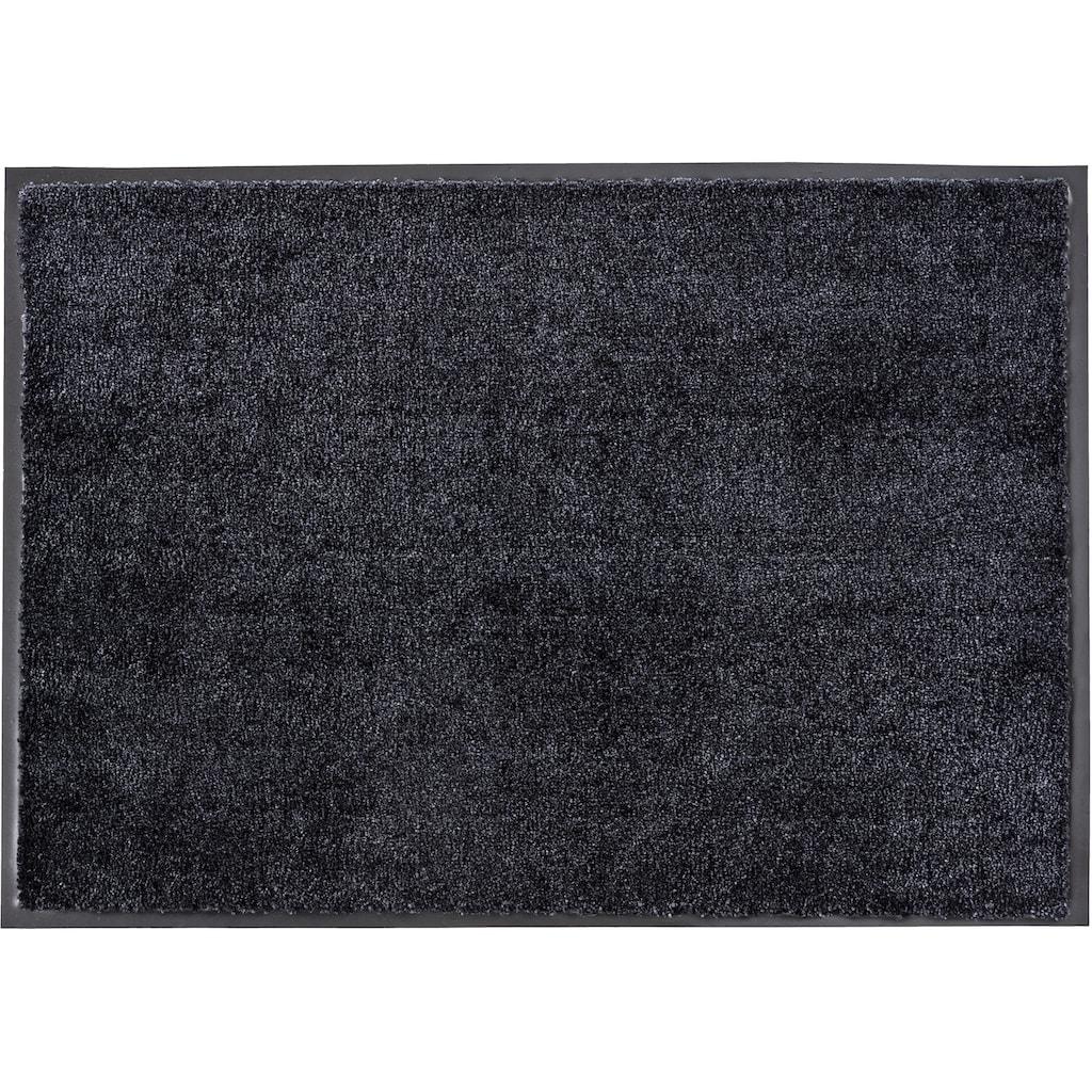 SCHÖNER WOHNEN-Kollektion Fußmatte »Miami Uni«, rechteckig, 7 mm Höhe, Schmutzfangmatte, waschbar